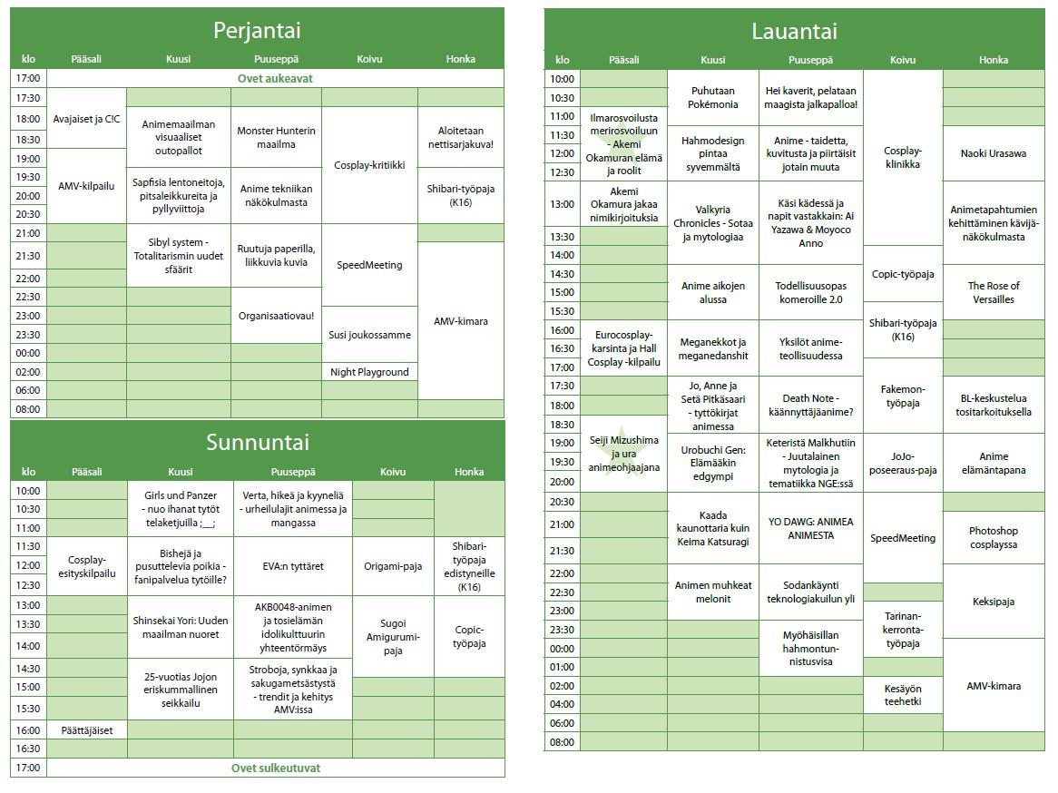 Desucon2013ohjelma