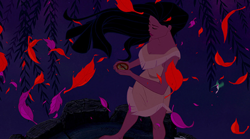 Pocahontas-ja-kompassi