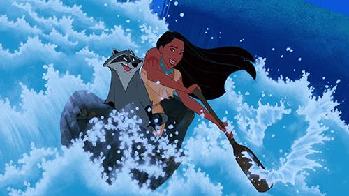 Pocahontas-ja-koskenlaskijajuusto