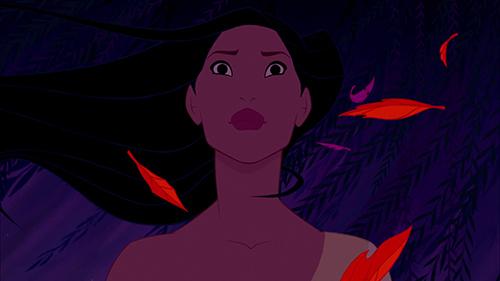 Pocahontas-dramaattisena