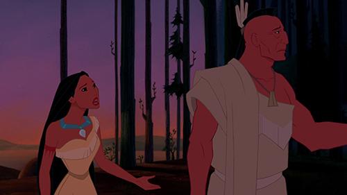Pocahontas-ja-isi