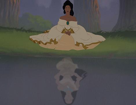 Pocahontas-meditoi