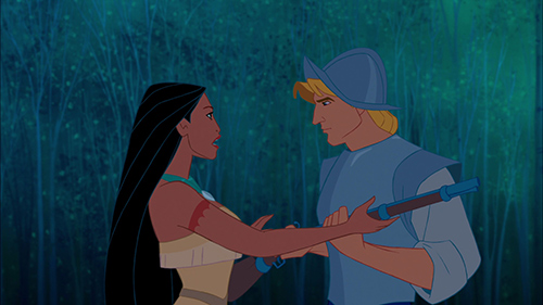 Pocahontasin-opetushusbando